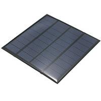 2W 9v 170-220ma монокристаллический мини-солнечные фотоэлектрические панели