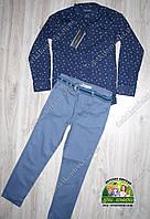 Рубашка Tommy Hilfiger и брюки с поясом