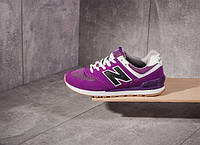 Кроссовки New Balance 574 Violet *** (ФИОЛЕТОВЫЕ), фото 1