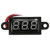 Водонепроницаемые 0.28 дюйма dc 3.5-30v мини-цифровой LED вольтметр для 12v автомобиль Moto 1TopShop, фото 2