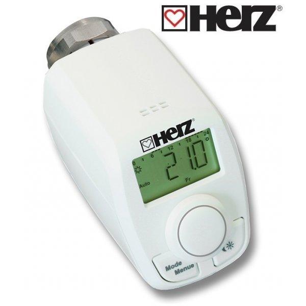 Электронная радиаторная термоголовка HERZ ЕТК резьба М 28 x 1,5 1825010