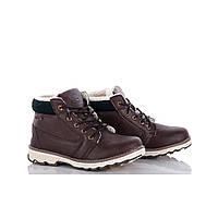 Зимние ботинки для мальчиков подростковые из эко-кожи высокого качества 36,38,39,40,41р.