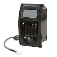 Врезной предусилитель LC-5  для аккустической гитары эквалайзер цифровой тюнер дисплей