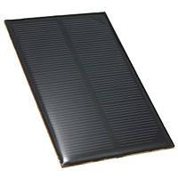 5v 1.2w 110 мм x 69 мм 240ma мини-солнечная батарея эпоксидной смолы фотогальваническая группа