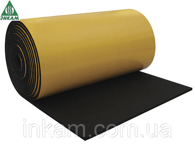 Самоклеящаяся изоляция  из вспененного каучука PA-FLEX  6 мм