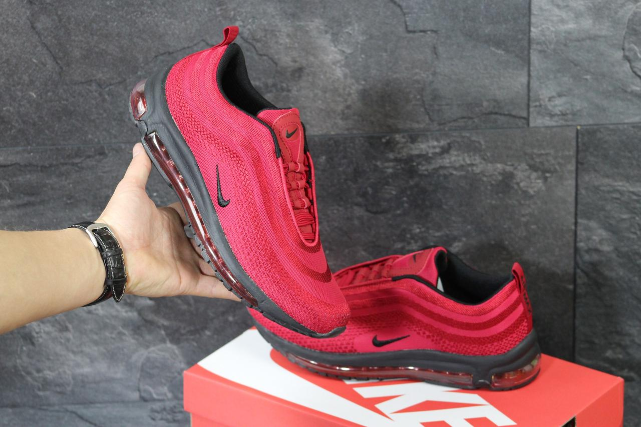0fe97585 Мужские кроссовки Nike Air Max 97 красные ( Реплика ААА+) - bonny-style