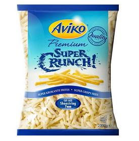 Картопля фрі заморожена Aviko Super Crunch 7 mm / Супер хрустка картопля 7 мм, по 2,5 кг