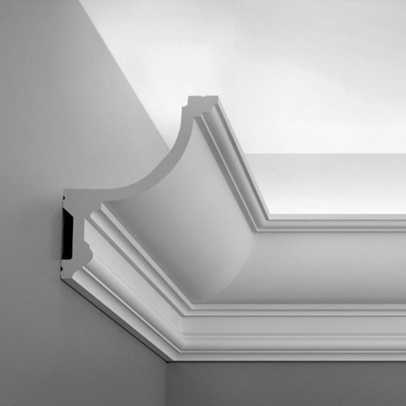 Карниз для скрытого освещения C901, 200 x 14.8 x 12.4 cm