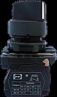 Выключатель кнопочный ВК011-ПР21 (переключатель 2-х позиционный с фиксацией) 1NО