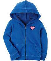 Детская ветровка-худи с капюшоном для девочки Carters (США)