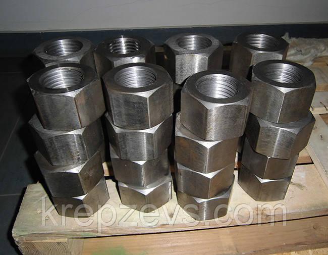 Гайка М10 ГОСТ 9064-75 класса прочности 8.0