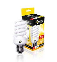 Энергосберегающая лампа Light Offer Т2 Spiral  ЕSL 15W E27 4000К 920Lm (ЕSL - 15 - 022)
