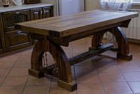 Столы обеденные состаренные