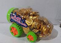 Шоколадные монеты в машинке 200 шт (Турция)