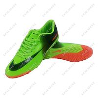 Обувь футбольная бампы (сороконожки) Nike Mercurial FA01-Neon (р-р 41-45, салатовый)