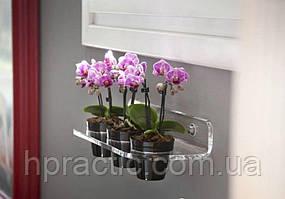 Полка - держатель на 3 цветочных горшка