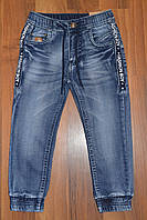 ДЖИНСОВЫЕ брюки- ДЖОГГЕРЫ для мальчиков ,.Размеры 98-128 см.Фирма GRACE.Венгрия, фото 1