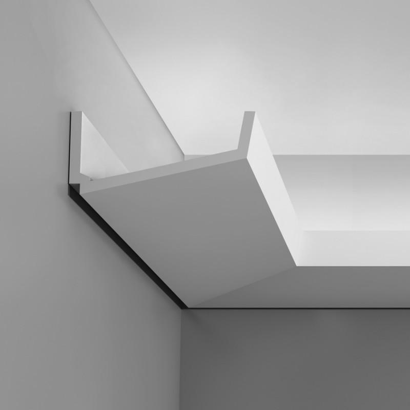 Карниз для скрытого освещения C352, 200 x 7.6 x 17.1 cm