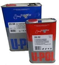 Лак акриловый U-POL HS 4+1 S2088/1 с отвердителем S2032/SM 1л+0,25л, фото 2