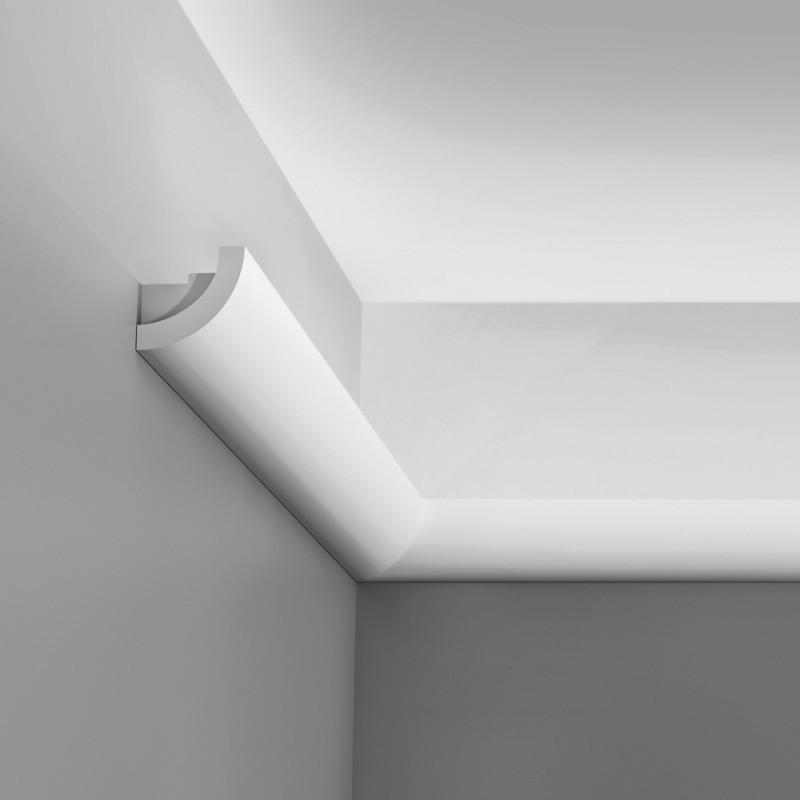 Карниз для скрытого освещения C362, 200 x 5 x 5 cm
