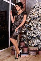 """Платье """"ЛУК 4105"""" гипюровое XS-L"""