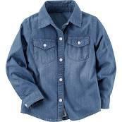 Джинсовая рубашка для девочки Carters (США)