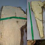 Воротник капюшон лиса готовый крой 30смх90см , фото 7
