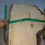 Воротник капюшон лиса готовый крой 30смх90см , фото 5