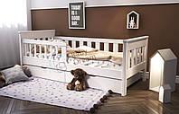 Кровать подростковая деревянная с бортиками Infinity