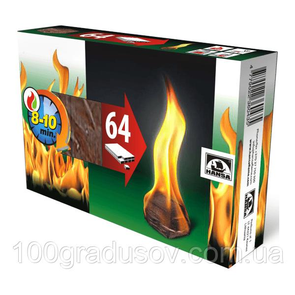 Разжигатели огня Hansa 64 шт.