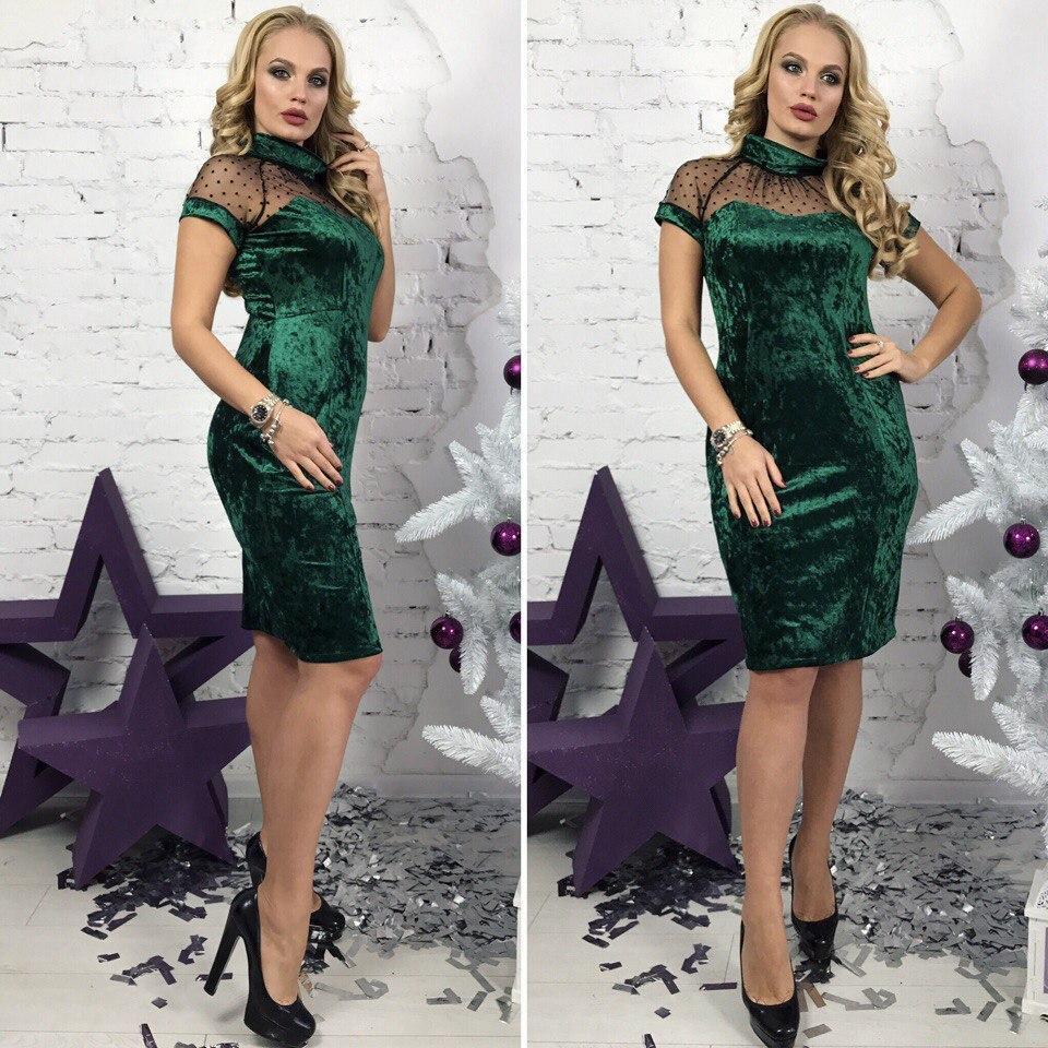 Платье с сеткой в расцветках 31534  Интернет-магазин модной женской одежды  оптом и в розницу . Самые низкие цены в Украине. платья женские от