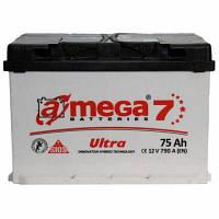 Автомобільний акумулятор A-mega 6СТ-75 Аз Ultra