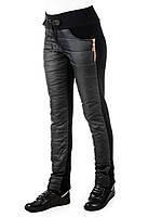 Спортивные теплые женские штаны Irvik H731T черный