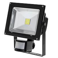 Светодиодный прожектор LEDEX 50Вт 6500К  с датчиком движения