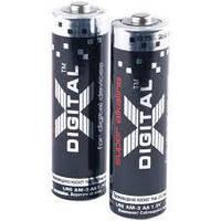 X-Digital Lr6 (2Sh) 1X2 Шт. Батарейка Щелочная; Размер Aa; Напряжение 1.5В; Цилиндрическая Форма