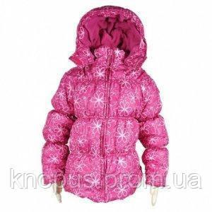 Демисезонная курточка для девочки розовая,  PIDILIDI, размер 98