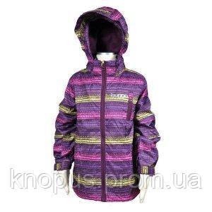 Демисезонная куртка (фиолетовая),  PIDILIDI, линейка BUGGA, размеры 98,  122