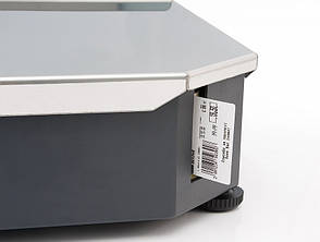 Весы торговые с печатью этикетки ШТРИХ-Принт М 4.5 (2 Мб) до 15 кг, фото 3