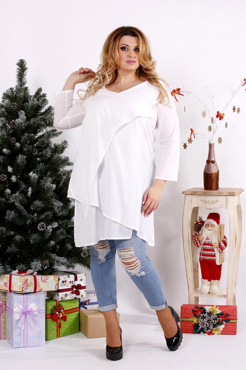 9e06c6ad5c7ec Я-Модна - купить Женская блуза-туника 0675 / размер 42-74 / цвет ...