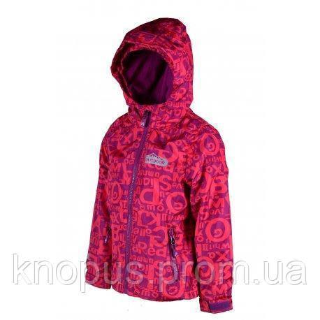"""Демисезонная термо куртка """"OUTDOOR"""" для девочек,  PIDILIDI, линейка BUGGA"""