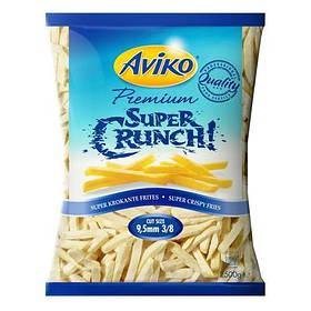 Картопля фрі заморожена Aviko Super Crunch 9,5 mm / Супер хрустка картопля фрі 9,5 мм