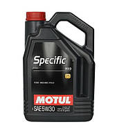 Моторное масло MOTUL 5W-30 5L Specific 913D