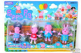 Герои Свинка Пеппа 12550 4 шт.в наборе