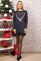 Женское теплое платье. RBOSSI P12. Размер 44-46.