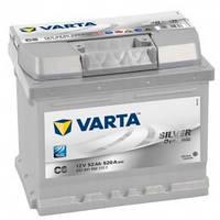 Автомобільний акумулятор Varta 6СТ-52 SILVER dynamic (C6)