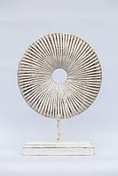 Абстракция круг резной 35 см