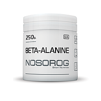 NOSOROG Beta-alanine 250 g (чистый бета аланин; против усталости мышц)
