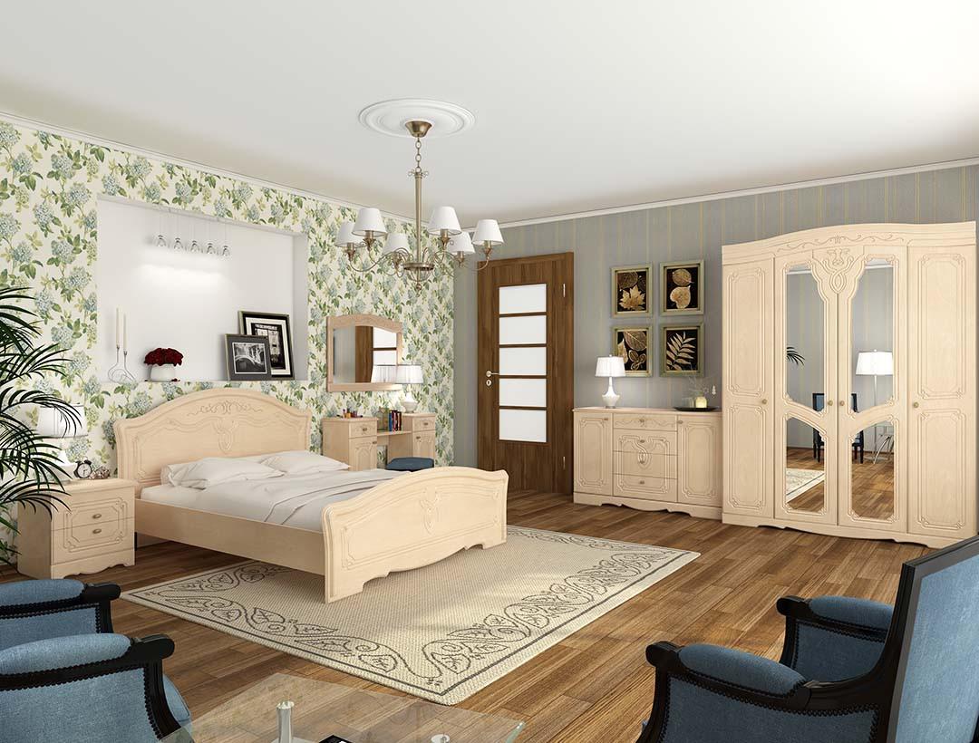 Спальня Ніколь Sokme