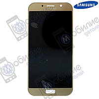 Дисплей Samsung A3 2017 (модуль экран + тачскрин) A320 Gold