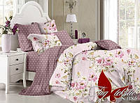 Комплект постельного белья сатин семейный размер TM Tag 085